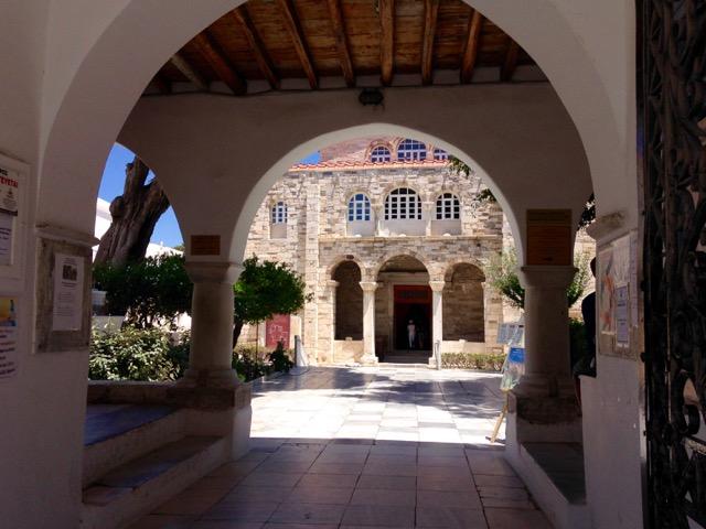 Ekatontapyliani Entrance - Paros Island